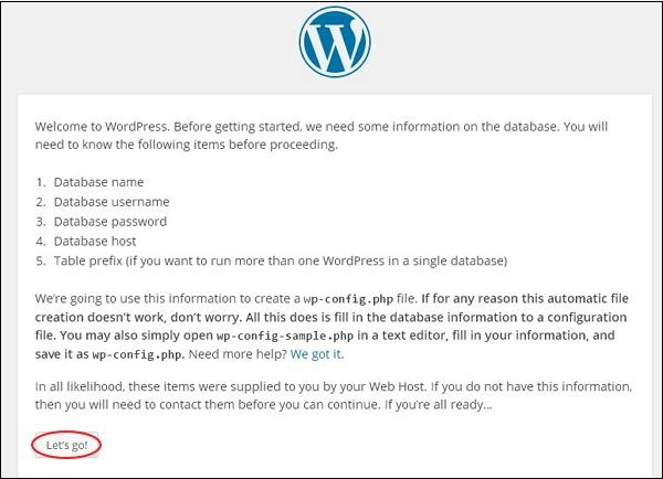 wp3 How To install wordpress