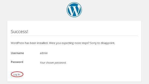 wp7 How To install wordpress